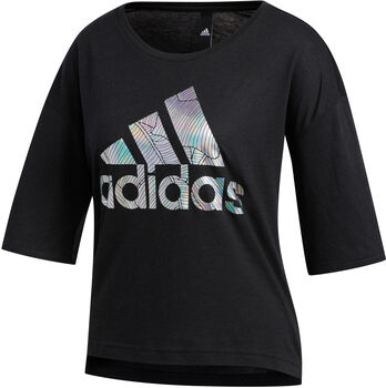 adidas Performance UNIV 2 T-Shirt Damen Schwarz