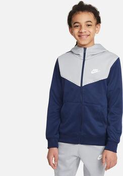 Nike Sportswear Full-Zip Hoody Blau