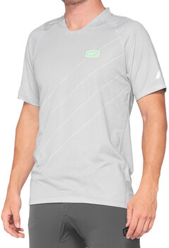 100% Celium Enduro/Trail Shirt Herren Grau