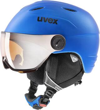 Uvex Casque à visière Visor Pro Bleu