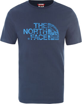 The North Face Wood Dome T-Shirt Herren Blau