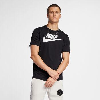 Nike Nsw Icon Futura T-Shirt Herren Schwarz