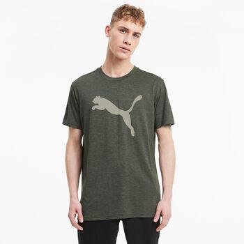 Puma Heather Cat t-shirt de training  Hommes Vert