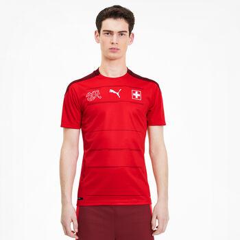 Puma SFV Schweiz Nati Home Replica Fussballshirt Hommes Rouge