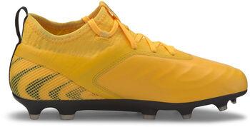 Puma ONE 20.2 FG/AG Chaussure de football Garçons Jaune