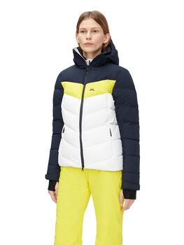 J.Lindeberg Russel Down veste de ski Femmes Jaune