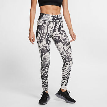 Nike Fast 7/8 Tights Damen Schwarz