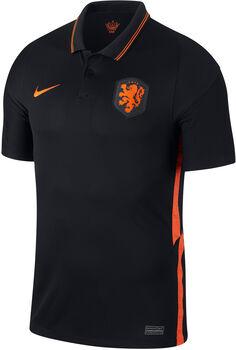 Nike Holland 2020 Stadium Away Fussballtrikot Herren Schwarz