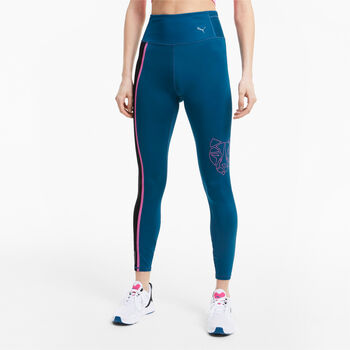 Puma High Rise 7/8 Tights Damen Blau
