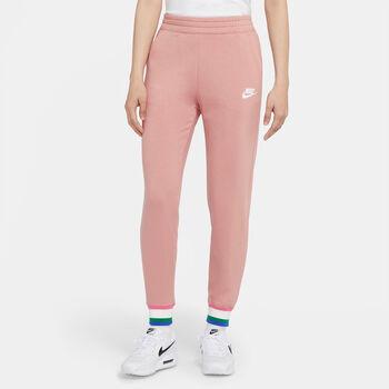 Nike Sportswear Heritage Trainingshose Damen Pink