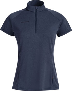 MAMMUT Aegility Half Zip T-Shirt Damen Blau