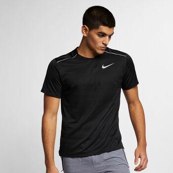 Nike Dri-FIT Miler T-Shrit Herren Schwarz