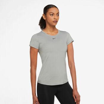 Nike One Dri-Fit Fitnessshirt Damen Grau