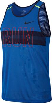 Nike Wild Run Mesh Tank Top Herren Blau