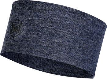 Buff Merino Stirnband Blau