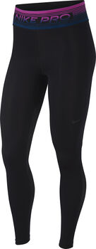 Nike Pro Printed Tights Damen Schwarz