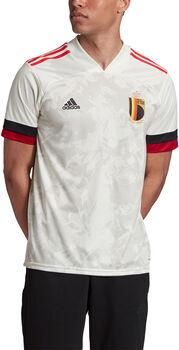adidas Belgium Away Replica maillot de football Hommes Blanc