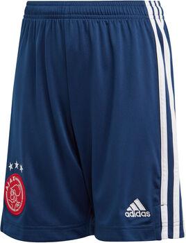 adidas Ajax Amsterdam 20/21 Away Fussballshorts Jungs Blau