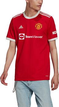 adidas Manchester United Home maillot de football Hommes Rouge