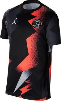 Nike PSG PM Away Trainingsshirt Schwarz