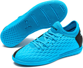 Puma FUTURE 5.4 IT Fussballschuh Indoor Blau