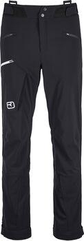 ORTOVOX Bacun Pantalon de ski de randonnée Hommes Noir