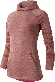New Balance Heat Grid Hoody Damen Pink
