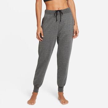 Nike Yoga Trainingshose Damen Schwarz