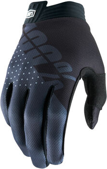 100% iTrack Bike Handschuhe Schwarz