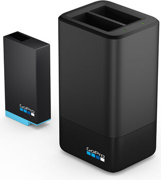 GoPro Dual Battery Charger+Battery Schwarz