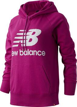 New Balance Essentials Pullover Hoody Damen Pink