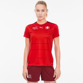 Puma SFV Schweiz Nati Home Replica Maillot de football Femmes Rouge