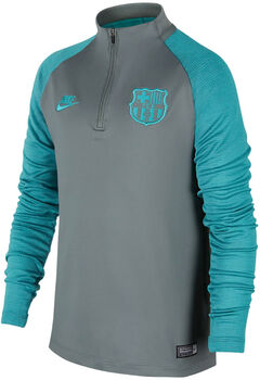 Nike FC Barcelona Dri-FIT Strike Fussballtrikot Jungs Grau