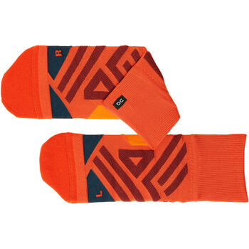 On MID Laufsocken Herren Orange
