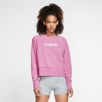 Nike Dri-FIT Get Fit Sweatshirt Damen Pink