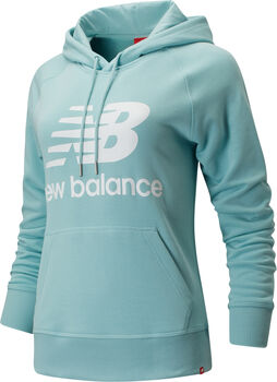 New Balance Essentials Pullover Hoody Damen Blau