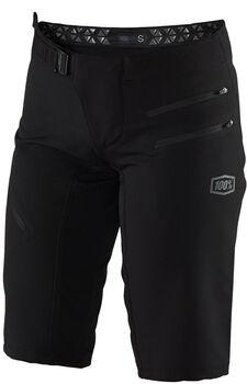 100% Airmatic Shorts de vélo Femmes Noir