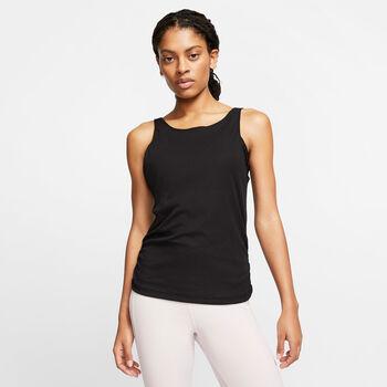 Nike Yoga Tank Top Damen Schwarz