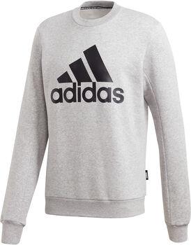 adidas Badge of Sport Fleece Sweatshirt Herren Grau