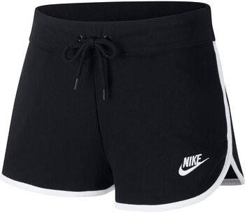 Nike Sportswear Heritage Trainingshose Damen Schwarz