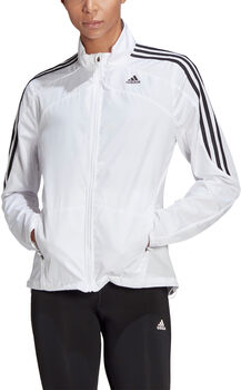 adidas Marathon 3-Stripes Trainingsjacke Damen Weiss