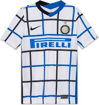 Nike Inter Mailand 20/21 Stadium Away Fussballtrikot Weiss