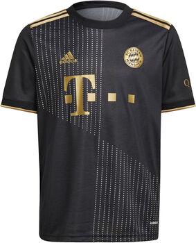 adidas FC Bayern München  Away Shirt Fussballtrikot Jungs Schwarz