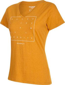 MAMMUT Zephira T-Shirt Damen Gold