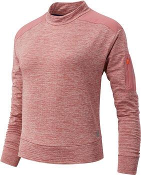 New Balance Heat Grid Pullover Damen Pink