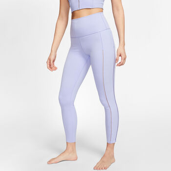 Nike Yoga 7/8 Tights Damen Violett