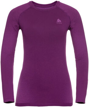 Odlo PERFORMANCE WARM ECO Funktionsshirt langarm Damen Violett