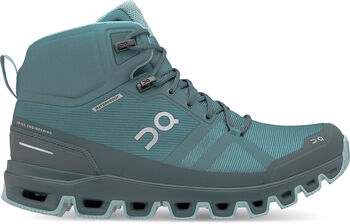On Cloudrock Waterproof Damen Blau