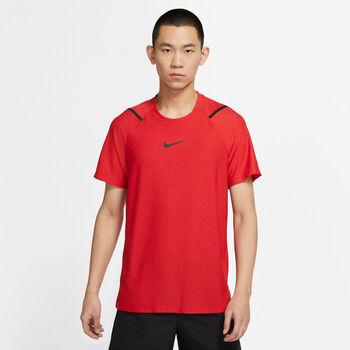 Nike Pro Trainingsshirt Herren Rot