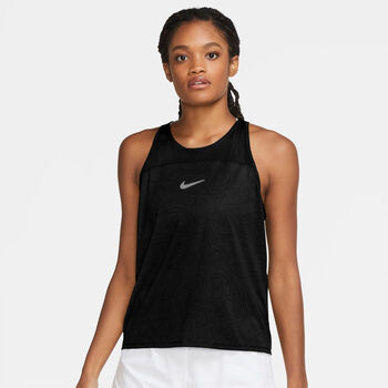 Nike Miler Run Division tanktop Femmes Noir
